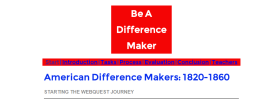 American Difference Makers Webquest